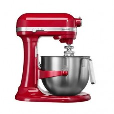 Миксер планетарный проф. Heavy Duty, дежа 6,9 л, Kitchen Aid  красный