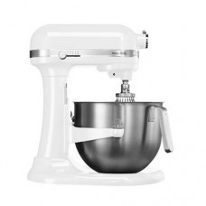 Миксер планетарный проф. Heavy Duty, дежа 6,9 л,Kitchen Aid  белый