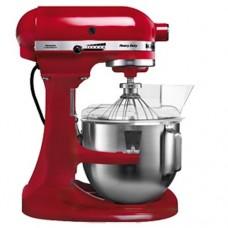 Миксер планетарный проф., Kitchen Aid 5KPM5EER, дежа 4,8 л,  цвет красный