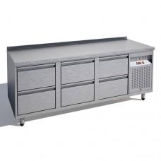 Стол морозильный Standart СМБ2-137/6Я/S, 1340*700*850