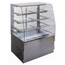 Витрина холодильная UNIS Georgia 1500 Silver