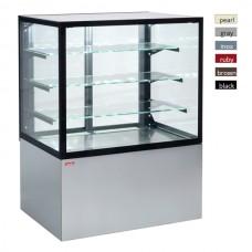 Витрина кондитерская охлаждаемая UNIS Cube II 1000 серый