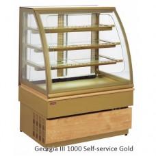 Витрина охлаждаемая UNIS Georgia III 1500 Self-service, gold