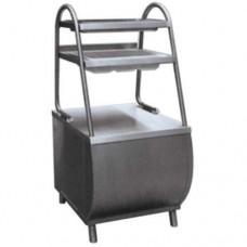 Прилавок для столовых приборов Патша ПСПХ-70М с хлебницей