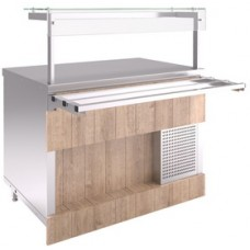 Прилавок холодильный Челябторгтехника RC13A, h=20мм