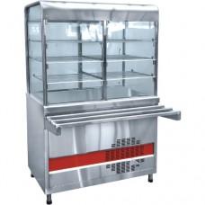 Прилавок-витрина холодильный Аста ПВВН-70КМ-С-01-НШ