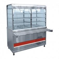 Прилавок-витрина холодильный Аста ПВВН-70КМ-С-02-НШ