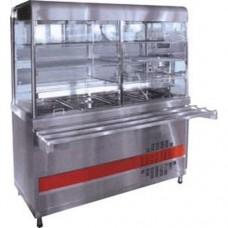 Прилавок-витрина холодильный Аста ПВВН-70КМ-С-НШ