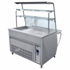 Прилавок-витрина холодильный Премьер ПВВН-70Т-01-НШ