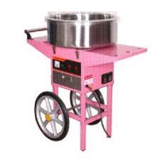 Аппарат для приготовления сахарной ваты STARFOOD ET-MF-05  с тележкой  диам.520мм