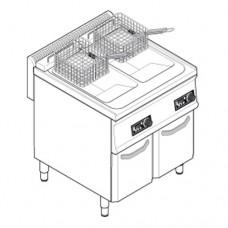 Фритюрница TECNOINOX FRSD70E7 с электронной панелью управления