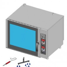 Печь пароконвекционная газовая TECNOINOX GFB06DSL