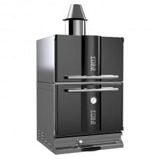 Печь угольная KOPA 400С с тепловым шкафом