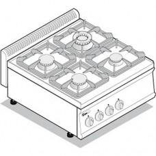 Плита газовая 4-х конф. TECNOINOX PC70G7
