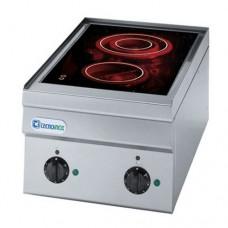 Плита со стеклокерамической поверхностью TECNOINOX PCC35E/6/0