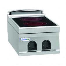 Плита со стеклокерамической поверхностью TECNOINOX PCC4E9