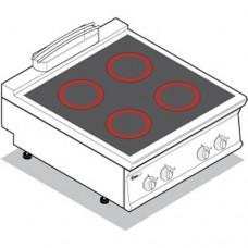 Плита со стеклокерамической поверхностью TECNOINOX PCC8E9
