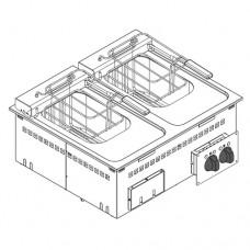 Фритюрница встраиваемая TECNOINOX DFR70E2